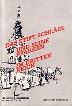 Obálka (1999) jeho knihy v edici Kirchen-Zeit-Geschichte lineckého nakladatelství Dr. Helmuta Wagnera