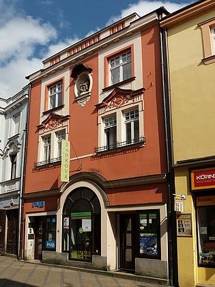 Rodný dům čp. 133 v Panské ulici v Jindřichově Hradci