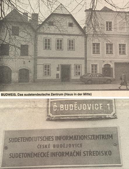 Dva snímky z dob, kdy na domě v Kněžské ulici visela i jeho zásluhou tato tabule