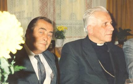 S biskupem Antonínem Liškou