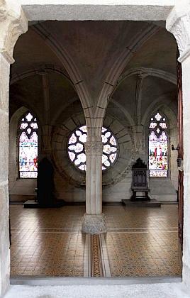 Kapitulní síň vyšebrodského kláštera