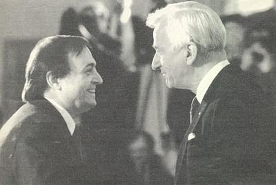 S Richardem von Weizsäckerem při nástupu do funkce velvyslance v SRN