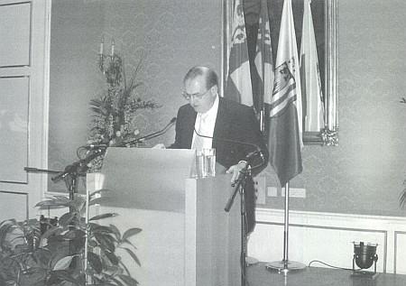 Při svém projevu v lednu 2005 o Stifterovi v Linci