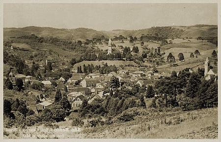 Dvě staré pohlednice ze Săo Bento do Sul