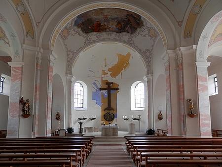 Farní kostel sv. Michaela v Röhrnbachu, místo jeho svatby
