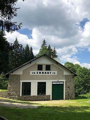 Jakob Kraus na elektrárnu přestavěl bývalý Paulův mlýn v Polce, elektřinu vyrábí dodnes (2018)