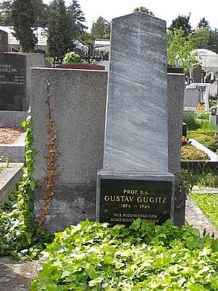 Hrob na vídeňském hřbitově Gersthof