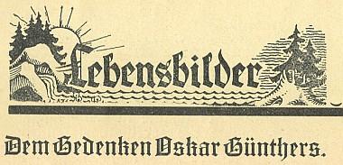 Záhlaví jeho nekrologu, který napsal E.F. Raffelsberger