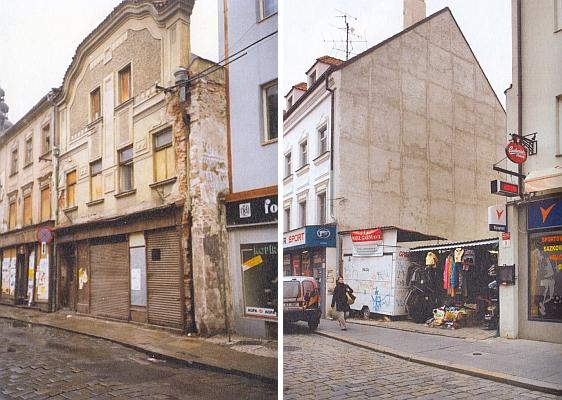 V tomto domě, který byl ve své novější ovšem už podobě roku 1993 zbořen a zůstala po něm ošklivá, teprve v roce 2008 zastavěná proluka, vyrůstal malý Vojtěch Matyáš od svých dvou let