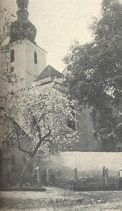 Kostel v rodném Červeném Dřevě