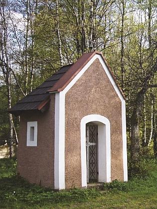 Kaple sv. Jana Nepomuckého v Prášilech