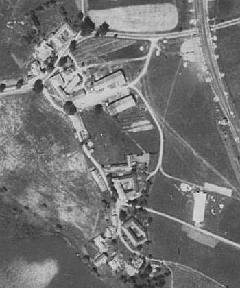 Rodný Certlov, dnešní Rybník, na leteckých snímcích z let 1949 a 2011