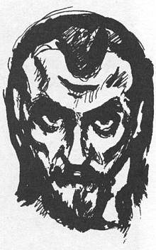 Na kresbě Friedricha Feigla zroku1919