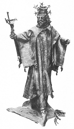 Jeho socha sv. Jana Nepomuckého stojí na milníku vyhnanců z Horšovotýnska ve Furth im Walde