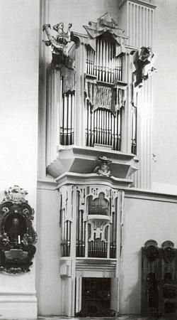 Varhany v pasovském dómu, zhotovené bratry Hafnerovými