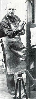 Georg Grosz byl Hahnovým výtvarným učitelem v New Yorku