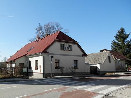 Dům čp. 28 na snímku z roku 2019