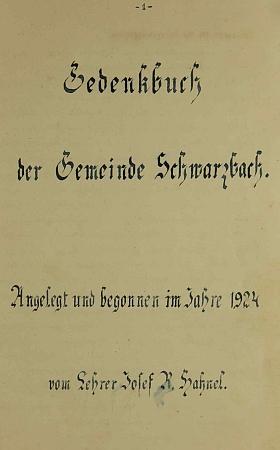Titulní list jeho kroniky