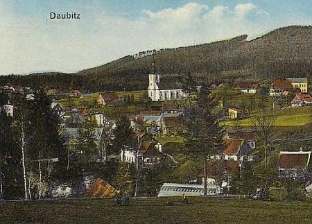 Rodná Doubice na staré pohlednici