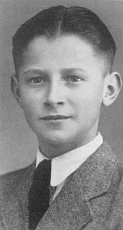 O. H. Hajek v mládí