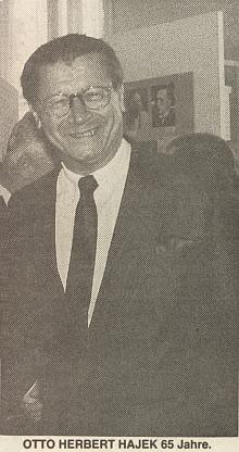 Záhlaví a ilustrační fotografie k článku o něm k jeho pětašedesátinám na stránkách oficiálního orgánu krajanského sdružení