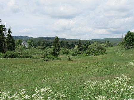 Pohled na Pohoří na Šumavě v roce 2013