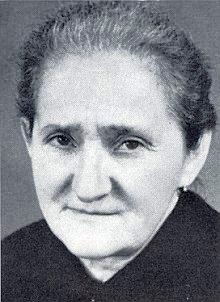 Maminka Maria, roz. Hansová, pochovaná 1979 veWaging am See, ...