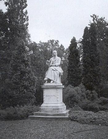 Památník Hamerlingův v městském parku ve Štýrském Hradci od Carla Kundmanna z roku 1904