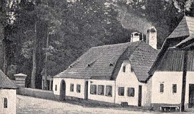 Původní podoba rodného domu v Kirchberg am Walde...