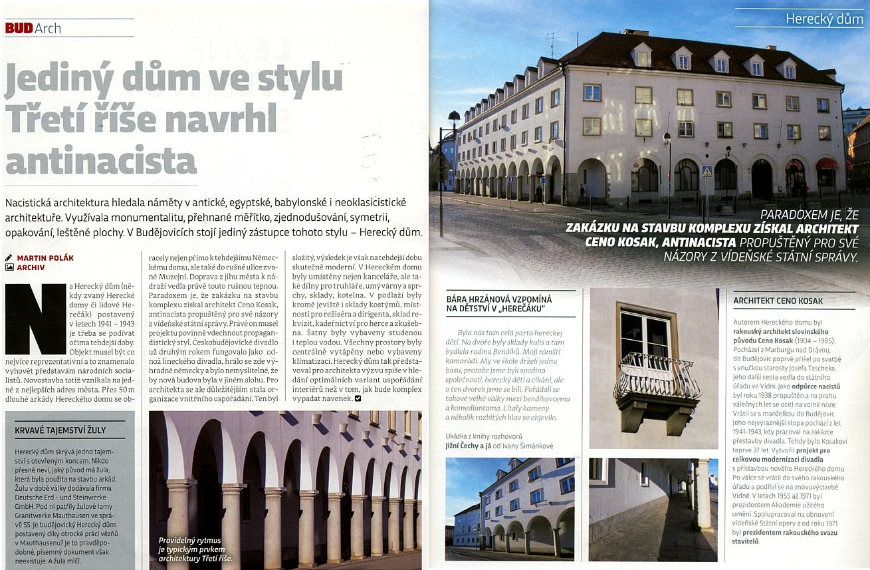Ceno Kosakovi (1904-1985) se podrobněji na stránkách českobudějovického magazínu věnoval ve svém článku Martin Polák