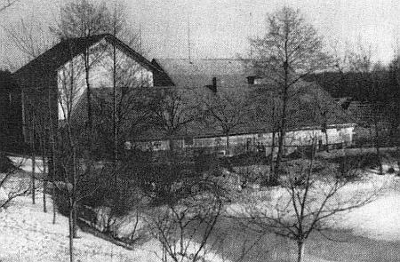 Rodný mlýn v Souměři