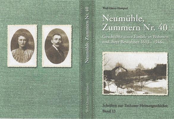 Obálka jeho knihy o rodném mlýně (2020, Verlag Battenberg Giettl Regenstaug)