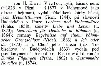 """Heslo z """"Ottovy encyklopedie obecných znalostí"""""""