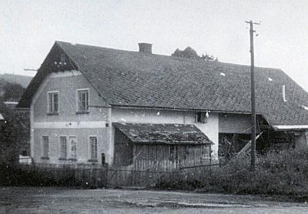 Rodný dům v Klášterci