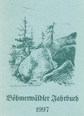 Obálka šumavského kalendáře s jeho kresbou
