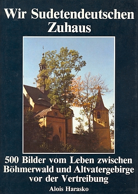 Obálka prvého vydání (1985)  knihy, na níž zachycuje barevný snímek zámeckou kapli v Liberci (nakladatelství Podzun-Pallas, Friedberg)