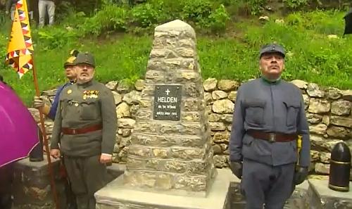 Památník byl  obnoven díky úsilí členů klubů vojenské historie na české i slovinské straně a 11. června 2016 podruhé slavnostně odhalem