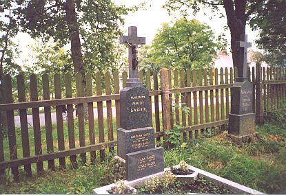 Hrobka rodiny Sagerovy v Nových Hutích