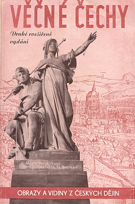 Obálka (1940) druhého vydání antologie zveršů německých básníků o Čechách, kterou na podzim 1939 sestavil Vincy Schwarz, popravený nacisty roku 1942 zaheydrichiády i se svou manželkou, azahrnul sem i dvě básně Moritze Hartmanna (nakladatelství Toužimský aMoravec, Praha)