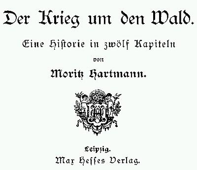 Titulní list jeho nejznámějšího románu v jednom z pozdějších vydání