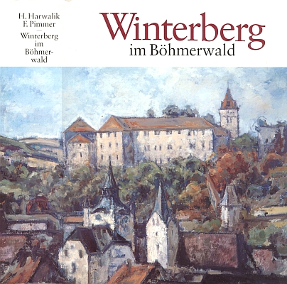 Obálka (1995, Heimatsammlung Stadt Winterberg, Freyung) 2. vydání jeho a Pimmerovy knihy