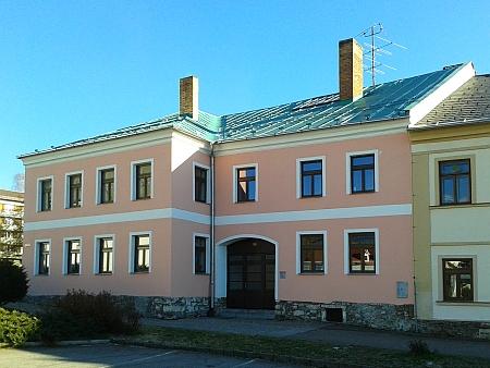 Rodný dům čp. 23 na volarském náměstí