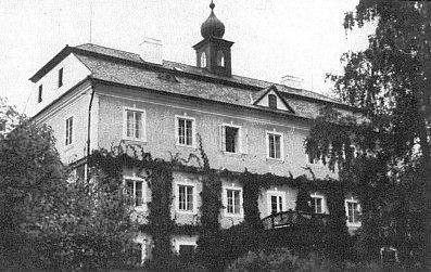 Zámek rodu Schönbornů v Chlumu