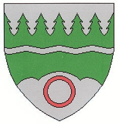 Znak městyse Großdietmanns, jehož je dnes Dietmanns katastrální osadou