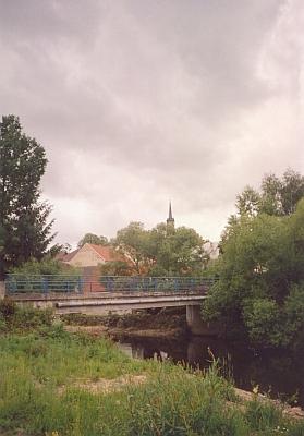 Dolní Dvořiště nad řekou Malší dnes...