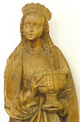V roce 1928 byla od pana Gebauera z Dolního Dvořiště zakoupena budějovickým muzeem tato socha sv. Doroty jihočeského původu, dnes tvořící součást sbírky středověkého umění Alšovy jihočeské galerie v Hluboké nad Vltavou