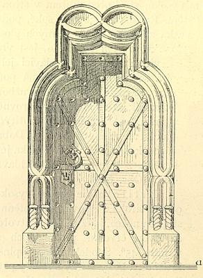 ... a dveře k němu ve farním kostele sv. Jiljí v Dolním Dvořišti