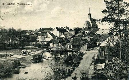 ... a na staré pohlednici