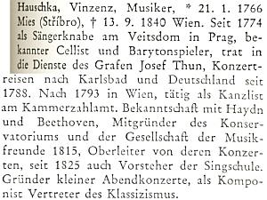Je zastoupen rovněž v německém biografickém lexikonu kdějinám českých zemí