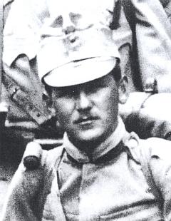 """Otec Wenzel Hehenberger v uniformě 91. """"šumavského"""" pěšího pluku - roku 1914 mu bylo 23 let"""